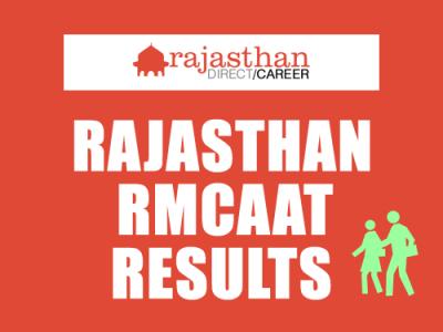 Rajasthan RMCAAT