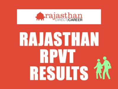 Rajasthan RPVT
